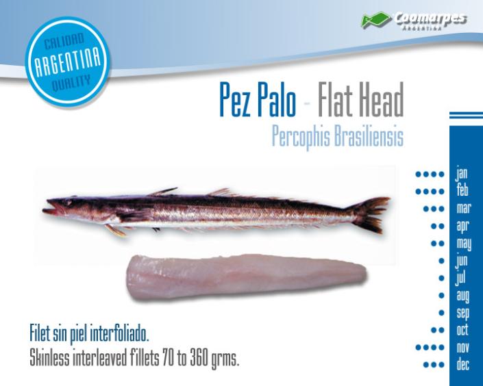 Pez Palo - Flat Head
