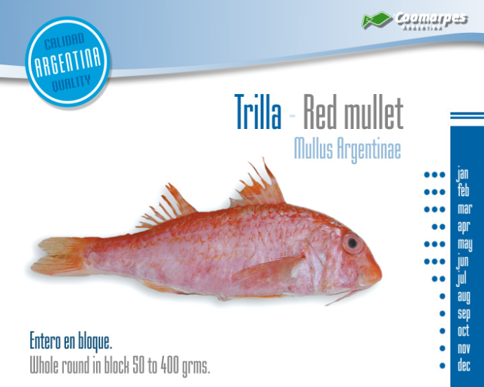 Trilla - Red Mullet